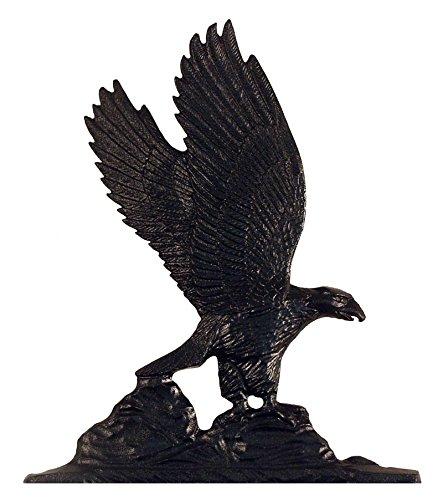 Eagle Mailbox Ornament - K&A Company Whitehall Address Sign Ornament - Eagle, 9.75