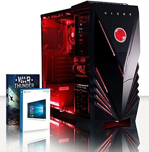 VIBOX Vision 2SW - Ordenador para Gaming (AMD A4-6300, 8 GB de RAM ...