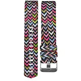 Watch Band, ABC® New Fashion Colorful Sports Silicone Bracelet Watch Band Strap For Fitbit Charge 2 (A)