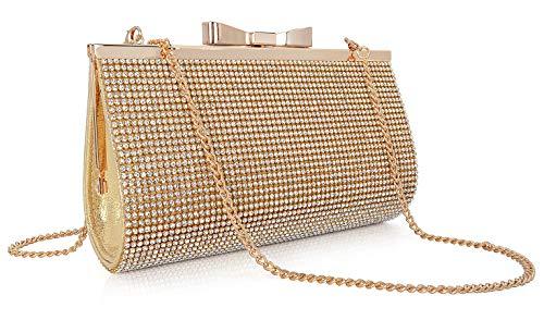 - Crystal Clutch Purse Women Rhinestone Evening Bag