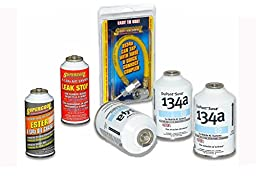 3 Cans of DuPont Suva 134a A/C Freon Plus Hose, Ester Oil and Leak Stop