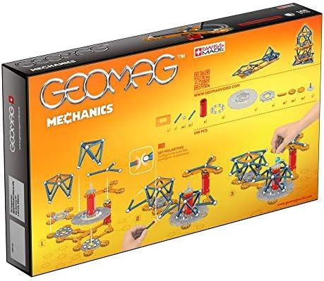 Geomag Mechanics Construcciones magnéticas y juegos educativos, 146 Piezas (722), Multicolor: Amazon.es: Juguetes y juegos