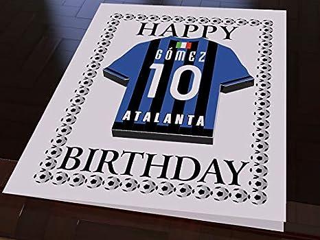 Serie A Italia – Italiano Equipo de fútbol Camisa imán Tarjetas de cumpleaños – Cualquier Nombre