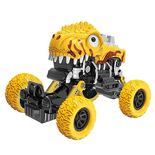 Gallity Kids, Inertia Four-Wheel Drive Off-Road Vehicle Model Toy Baby Dinosaur Car Toys - Tailor Tractor