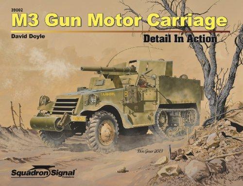 M3 Gun Motor Carriage Detail In Action