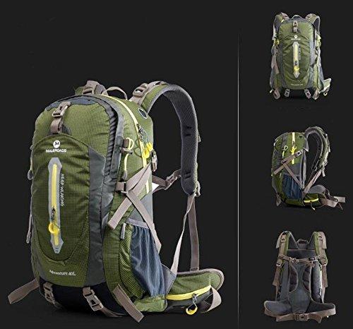 Outdoor uomini e donne Borse da viaggio Borse escursioni tracolla 40L50L ( colore : Army Green , dimensioni : 50L )