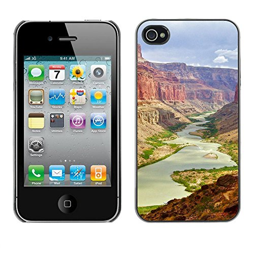 SuperStar // Refroidir image Étui rigide PC Housse de protection Hard Case Protective Cover for iPhone 4 / 4S / grand Canyon /