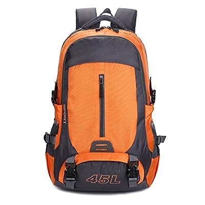 Sac à dos durable- Sac à dos de sports de plein air Sac d'alpinisme de grande capacité Sac à dos multifonctionnel Sac à bandoulière Sac de randonnée Camping Sac à dos -M