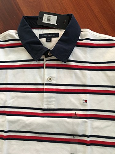Tommy Hilfiger Men's Polo, Herren Poloshirt, Signature Polo, Size: X-Large
