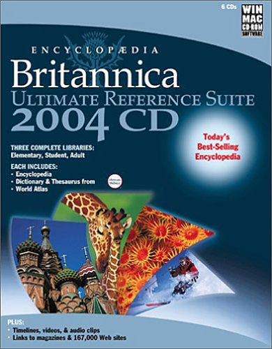 (Encyclopedia Britannica 2004 Ultimate Reference Suite )