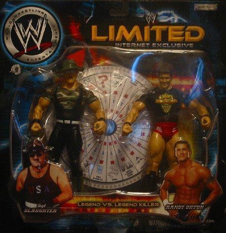 WWE Wrestling Legend vs Legend Killer