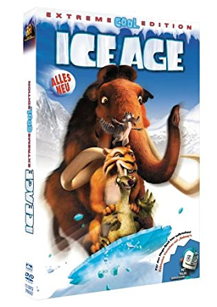 New ice age extreme cool edition dvd & new ice age collision.