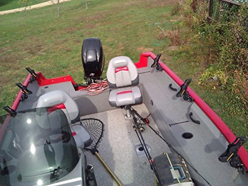 4x-Rod-Holder-for-Tracker-Boat-Versatrack-System-With-Cannon-Rod-Holder-Installed
