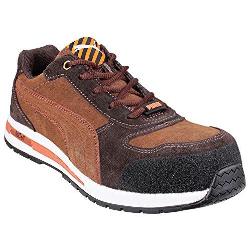 Puma Safety Barani Low-zapatillas de seguridad para hombre Marrón - marrón