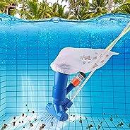 iSinofc Kit de aspirador de pó portátil para piscina, mini acessórios para aspirador de piscina, adequado para