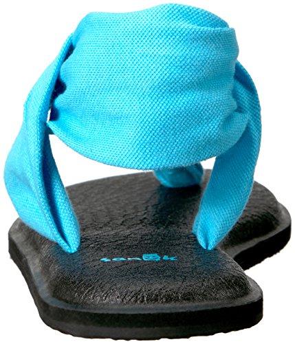 Femme Tongs Sling 2 Sanuk Prints Bleu Yoga SxF6wBnBq