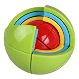 Playking Puzzle Ball Wisdom Ball 3D Intelligence Ball Game Magic Puzzle 21 Pcs