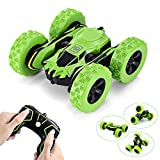 Hobby-Ace Stunt RC Cars Toys Double Sided Flip Car, 1/28 2.4Ghz Remote Control Car Off Road Electric Race Vehicles Double Sided 360 Degree Spins and Flips,Electric Toy Rc Cars Gift for Kids Adults