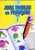 Jeux faciles en français, volume 1