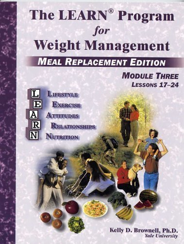 Download The Learn Program for Weight Management - Meal Replacement Edition Module Three PDF