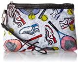 Sydney Love Tennis Cosmetic Wristlet Clutch,Multi,One Size