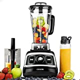 COSORI Blender 1500W for Shakes and Smoothies, Professional Heavy Duty Smoothie Maker With Variable Speeds, 70oz BPA-Free Pitcher & 27oz Bottle, Recipe Book Included, 2-Year Warranty, UL&FDA Approved