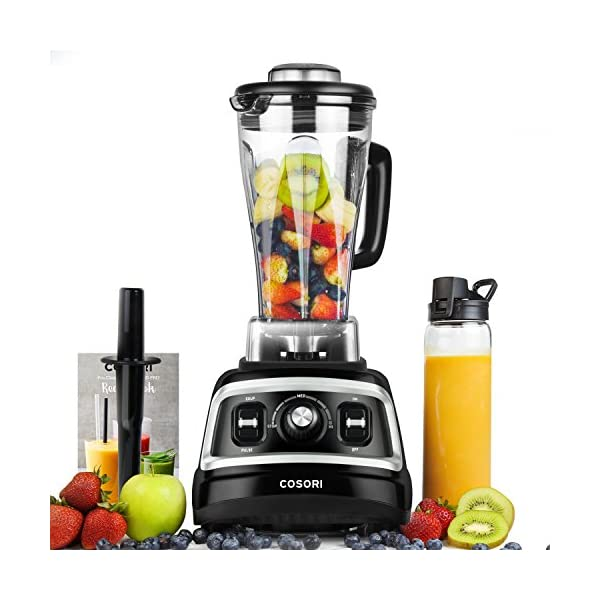 COSORI Blender 1500W for Shakes Professional Heavy Duty Smoothie Maker With Variable Speeds, with 800W Auto-Blend Base… 1