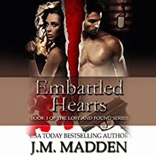 Embattled Hearts Audiobook by J. M. Madden Narrated by Eric G. Dove