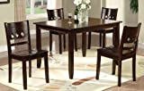 Cheap Poundex PDEX-F2242 5 Piece Dining Set
