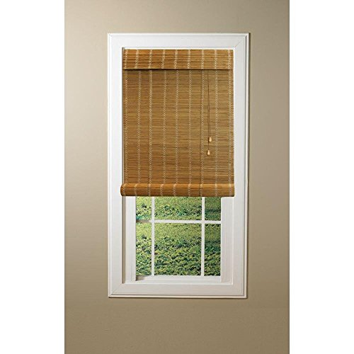 Nutmeg Simple Weave Rollup Shade, 72 in. Length (Price Varies by (Complements Bamboo Rug)