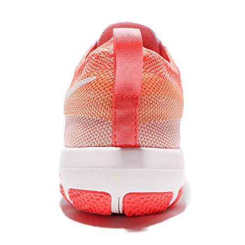 Nike Vrouwen Wmns Vrije Tr Nadruk Flyknit, Licht Vlt / Top Wit-bright Mango-pc, 5 Ons