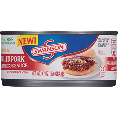 Swanson Pulled Pork in Barbecue Sauce, 9.7 Ounce