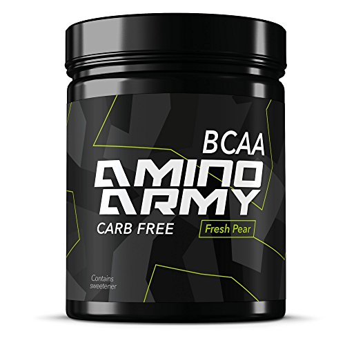 Cheap ★ BCAA Powder 25 servings (Fresh Pear) ★ 6000 mg BCAA + 1000 mg Glutamine + 3000 mg Alanin, Lysine, Glycine ★ Total 10,000 mg amino acids per serving ★ Great for Pre workout & Recovery purposes