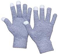Beurlike Womens Winter Cashmere Knit Gloves Mens Touch Screen Warm Fleece Gloves
