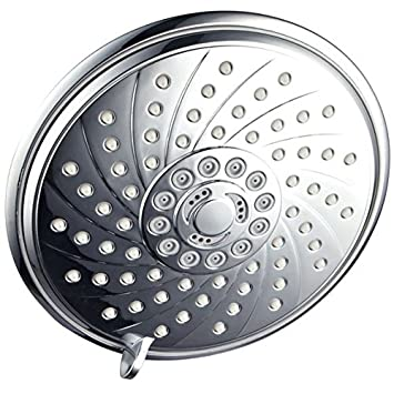 HotelSpa Extra Large 6 Inch Rain Shower Head For Exceptional Water  Coverage! High