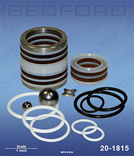 Bedford Precision Aftermarket Replacement for the AIRLESSCO 187-040 Bedford 20-1815 Kit - 3600, 4100, 5100, 5300, 6100 Pumps