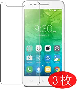 【3 Pack】 Synvy Screen Protector for Lenovo Vibe C2 TPU Flexible HD Film Protective Protectors [Not Tempered Glass]
