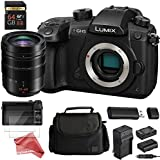 PANASONIC LUMIX GH5 4K Mirrorless Digital Camera ESSENTIAL Starter DigitalAndMore Bundle (Includes GH5 Body + PANASONIC LUMIX G LEICA VARIO-ELMARIT 12-60mm VARIO II PROFESSIONAL LENS)