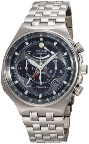 Citizen Men's AV0021-52H Eco-Drive Titanium Calibre 2100 Watch