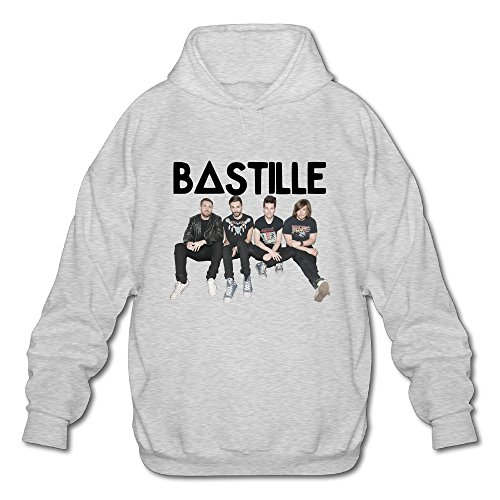 Bastille Shoe - BOOMY BASTILLE Wild World Man's Hooded Sweatshirt SIZE XL