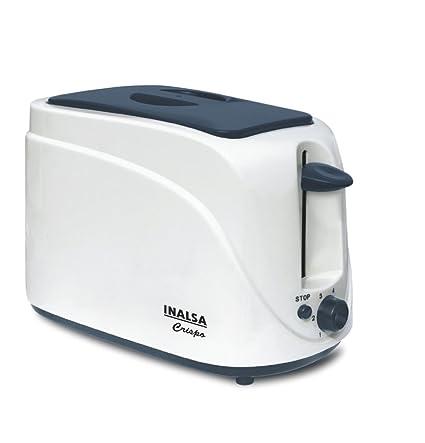 Inalsa Crispo 700-Watt 2-Slice Pop-up Toaster