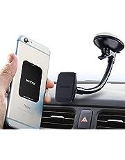 Handy Telefonhalter für Auto von Wuteku - Magnetic Kit funktioniert allen Fahrzeugen, Handys und Tablets - Universal - Bester Vent Mount - Mit iPhone XR XS X 8 and Galaxy S10 S9