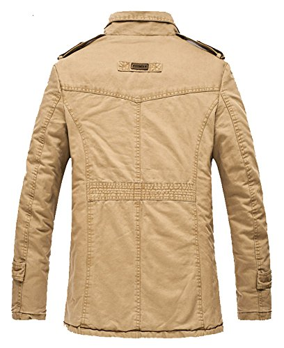 Mr.Freeman Men's Casual Cotton Lightweight Jackets For Fall-Winter ...