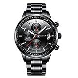 KASHIDUN Men's Wrist Quartz Watches Medium Watch Case With Watch Batteries Strap Box Watches For Men.998