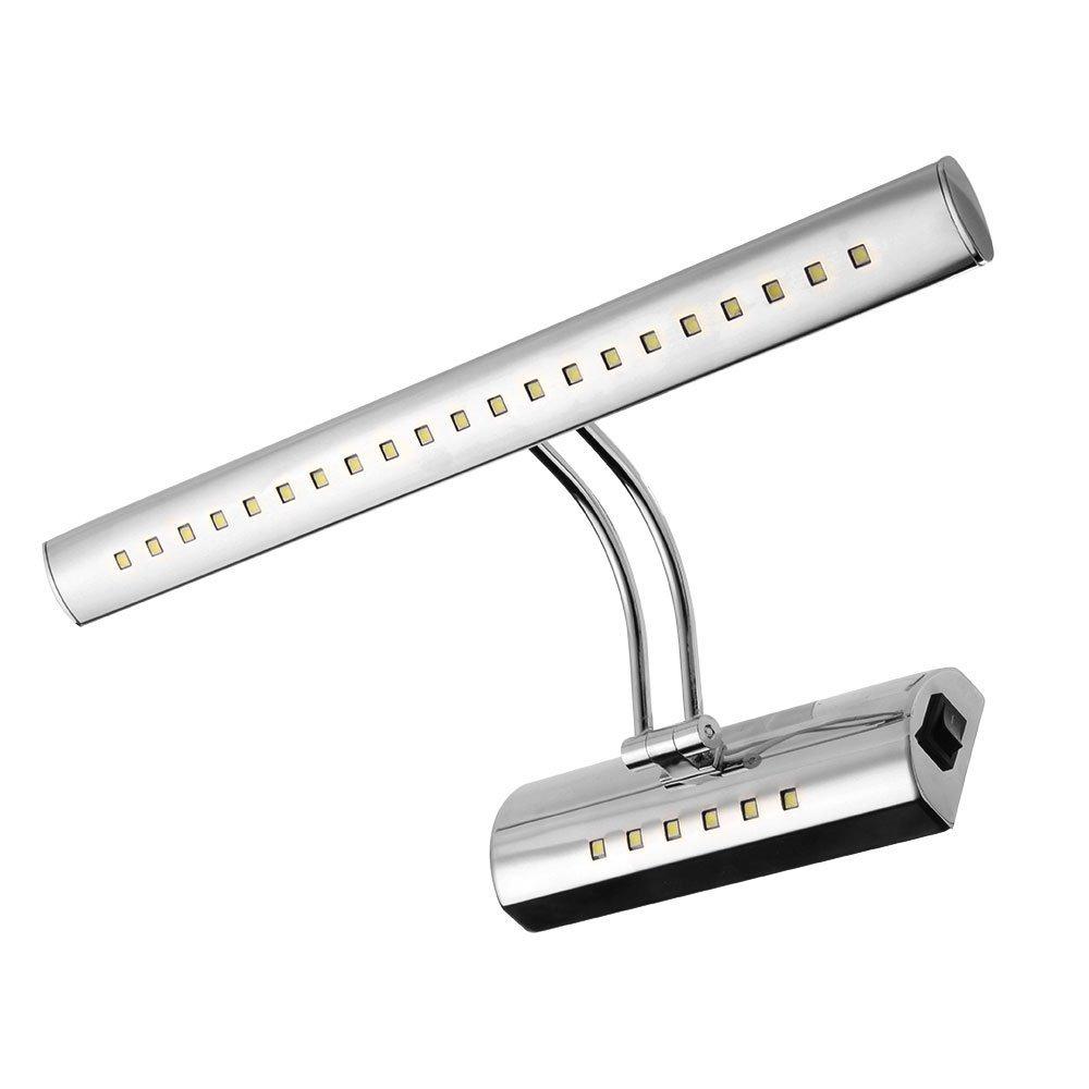 6W 5050SMD 27 LEDs Lampe Applique Éclairage Blanc Chaud pr Salle de Bain  Miroir