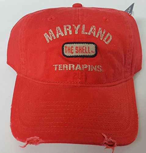 NCAA New Maryland Terps Embroidered Adjustable Buckle Back Cap by NCAA