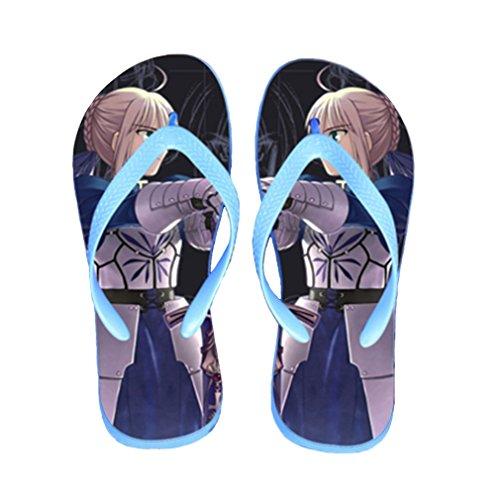 Bromeo Steins Gate Anime Unisex Flip Flops Chanclas 821
