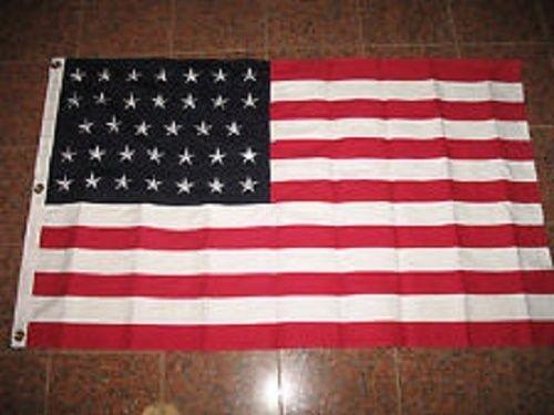 Nylon 34 Star American Flag - 7