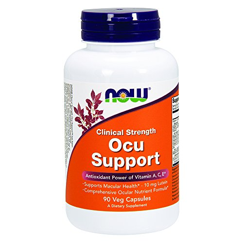 NOW Clinical Ocu Support Capsules