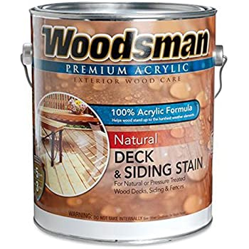 True Value Stov7 Gal Woodsman Cedar Hse Oil Oil Deck And Siding Stain 1 Gallon